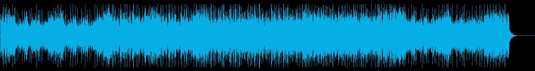 和風ロック 戦闘BGMの再生済みの波形