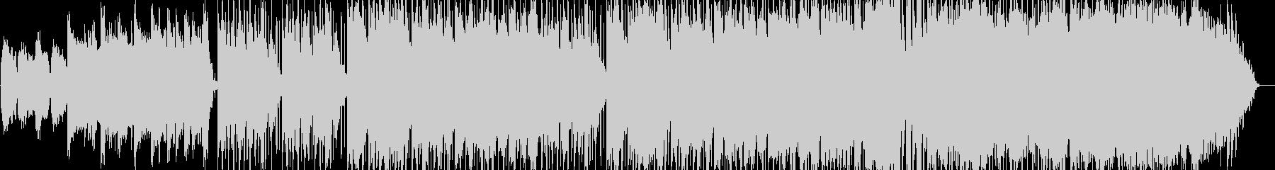 クリスマスをイメージしたインストBGMの未再生の波形