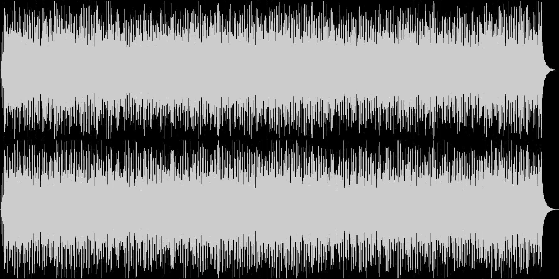 琴と三味線×ボサノバ!和風BGMの未再生の波形