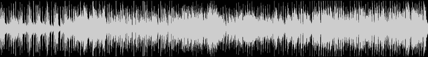 管楽器ファンク、サックス生演奏※ループ版の未再生の波形