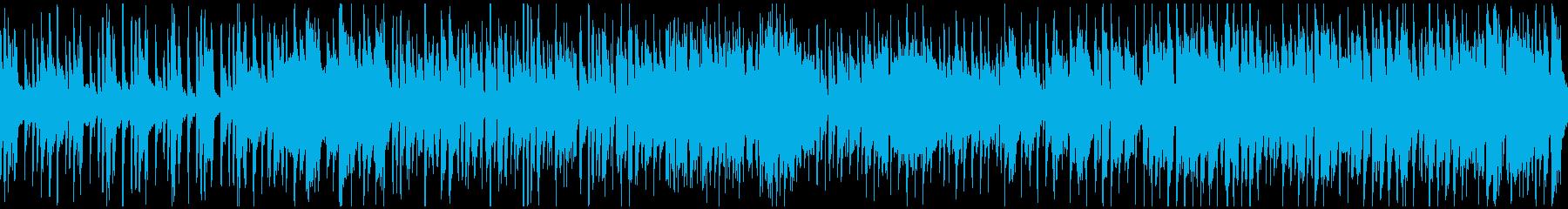 管楽器ファンク、サックス生演奏※ループ版の再生済みの波形