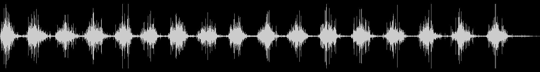 ファイバーグラスカヌー:シングルパ...の未再生の波形