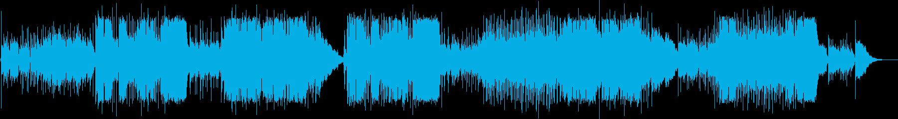 英語洋楽:心が晴れる爽やか可愛いポップスの再生済みの波形