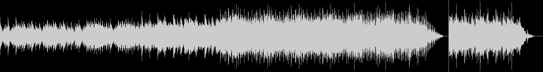 ポップな背景、ピアノメロディー。の未再生の波形