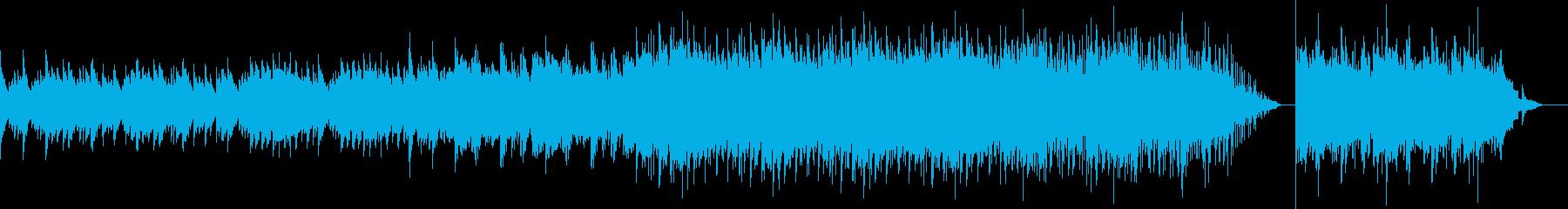 ポップな背景、ピアノメロディー。の再生済みの波形