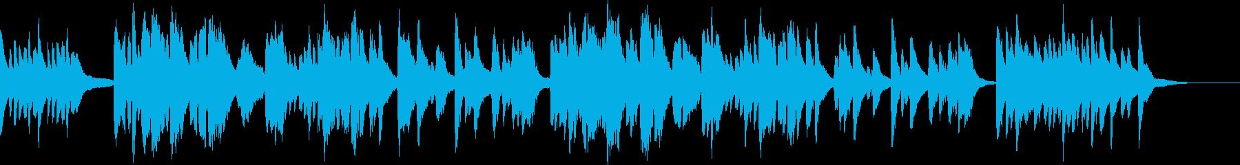 「熊本・天草地方の子守唄」ハープ弾き語りの再生済みの波形