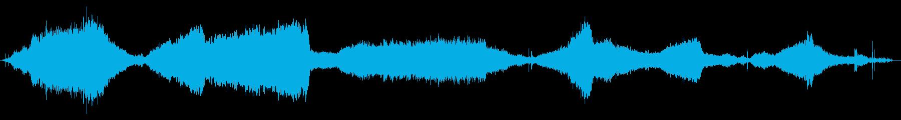 スクールバス:内線:機内:アイドル...の再生済みの波形
