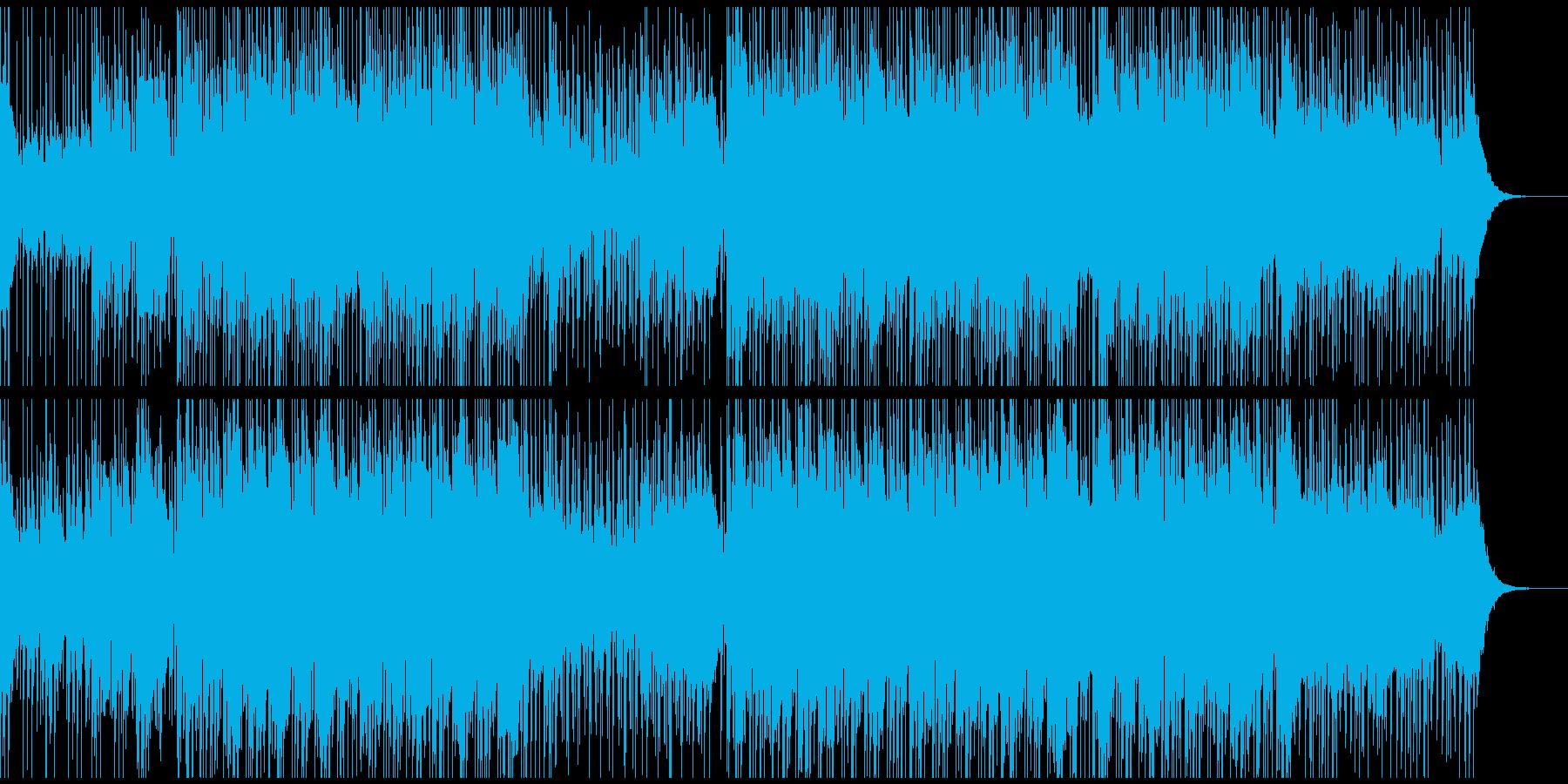 CM・VP等に 爽快なハウスミュージックの再生済みの波形