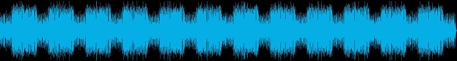ローファイ、チルアウト、YouTubeの再生済みの波形