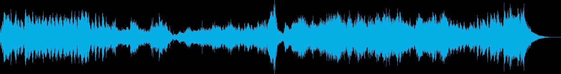弦楽器と打楽器で緊張感をの再生済みの波形