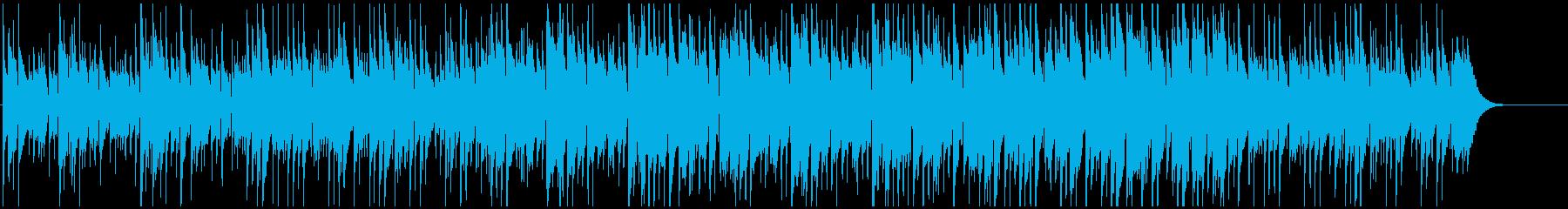 CMや映像に ウクレレのんびりポップの再生済みの波形