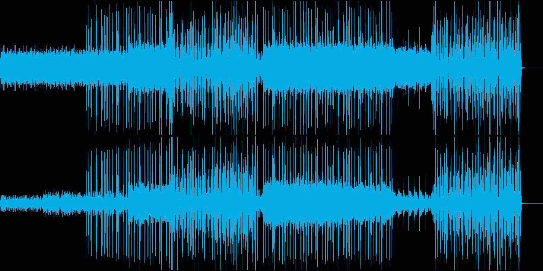 悲しいピアノが印象的なポップソングの再生済みの波形