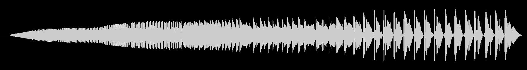 FX ローパワーダウン01の未再生の波形