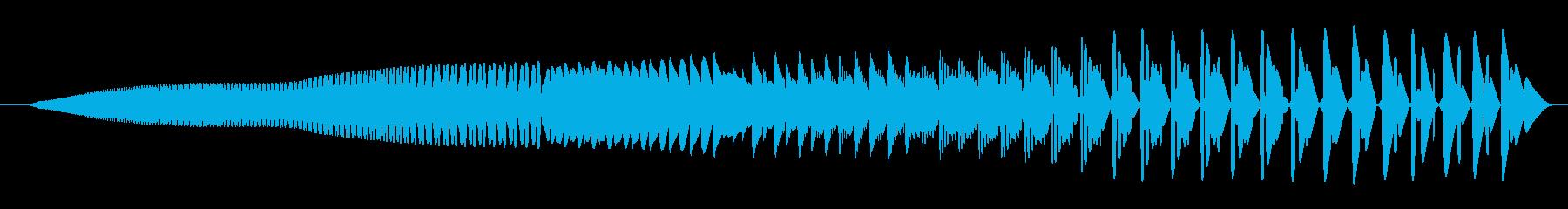 FX ローパワーダウン01の再生済みの波形