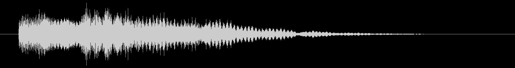 チャリン(お金・マネー・コインゲット)の未再生の波形