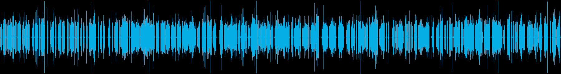 連続的な電気バースト電力、アーク放...の再生済みの波形