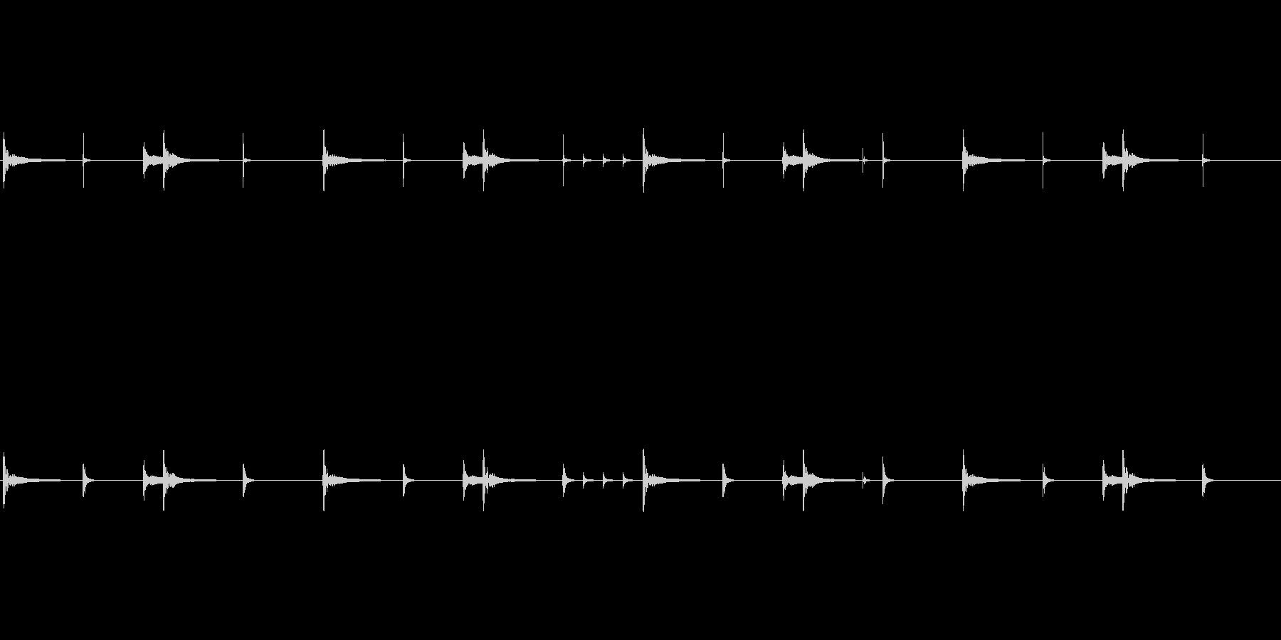 和太鼓のリバーブなしループ音源です。歴…の未再生の波形
