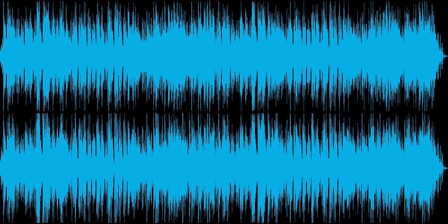 ループ オリエンタルなシンセとピアノの再生済みの波形