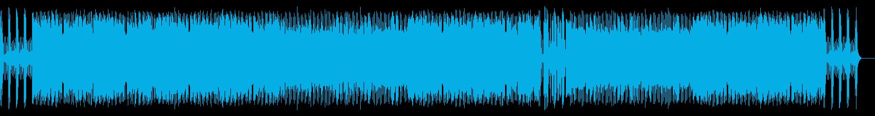 パワフルで疾走感のある尺八ロックの再生済みの波形