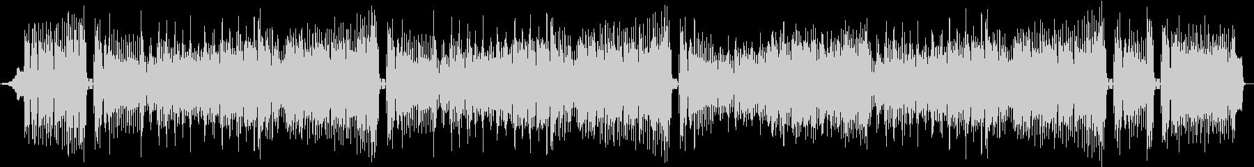 ピアノメロディーの明るいシャッフルマーチの未再生の波形