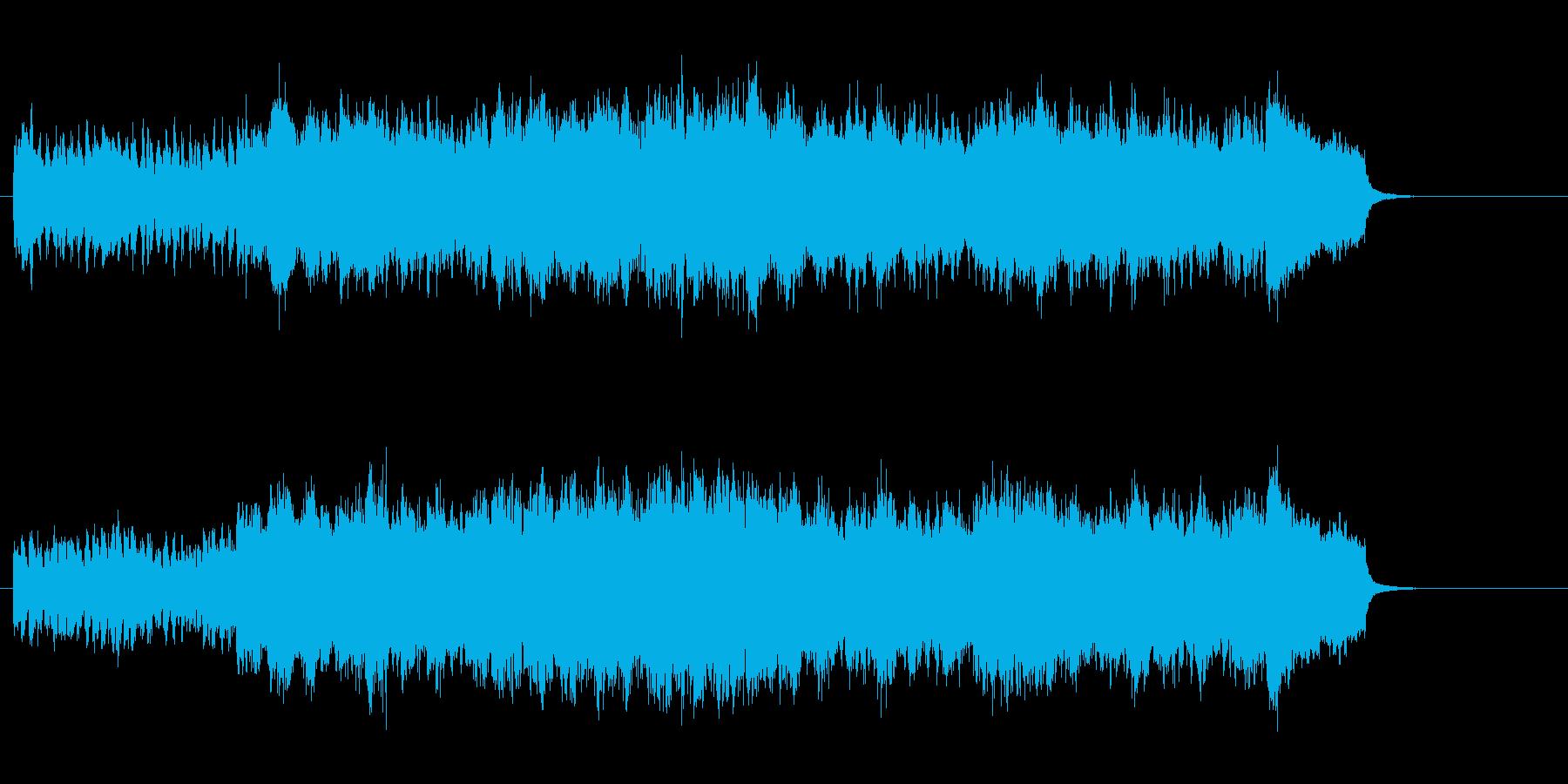 ホーム・ミュージック的クラシック風の再生済みの波形