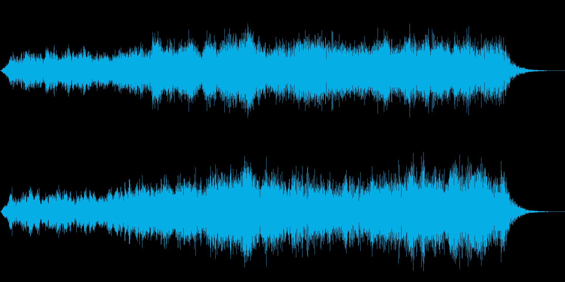 ヌァーーン(怪しい雰囲気の音)の再生済みの波形