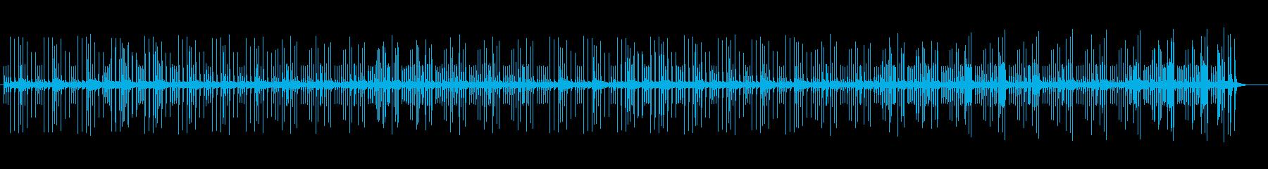 穏やかで可愛いリラクゼーションサウンドの再生済みの波形