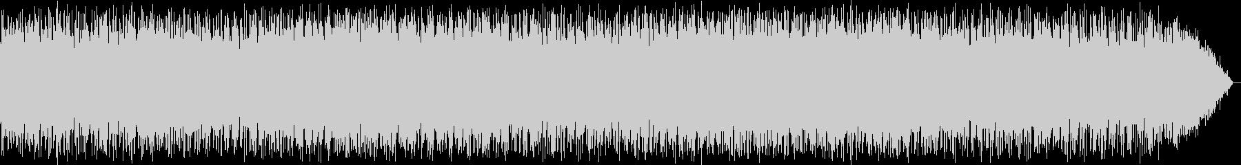 のんびり歩くようなイメージのケーナの音楽の未再生の波形