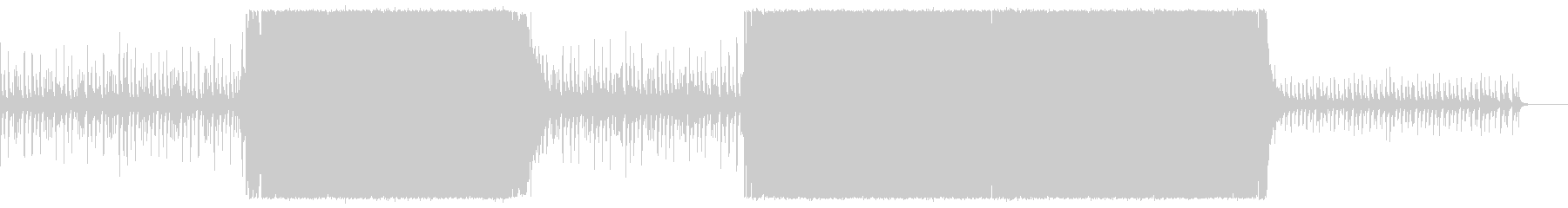 シンプルかっこいいアコースティックロックの未再生の波形