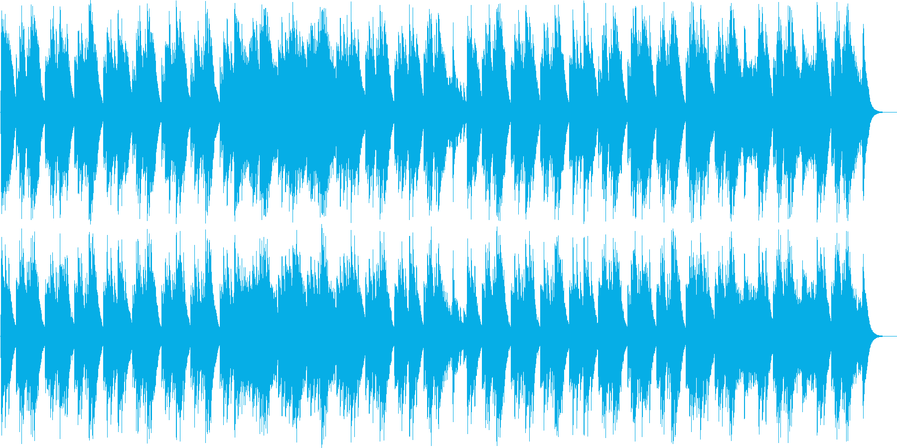 ダッタン人の踊り/ボロディン(オルゴールの再生済みの波形