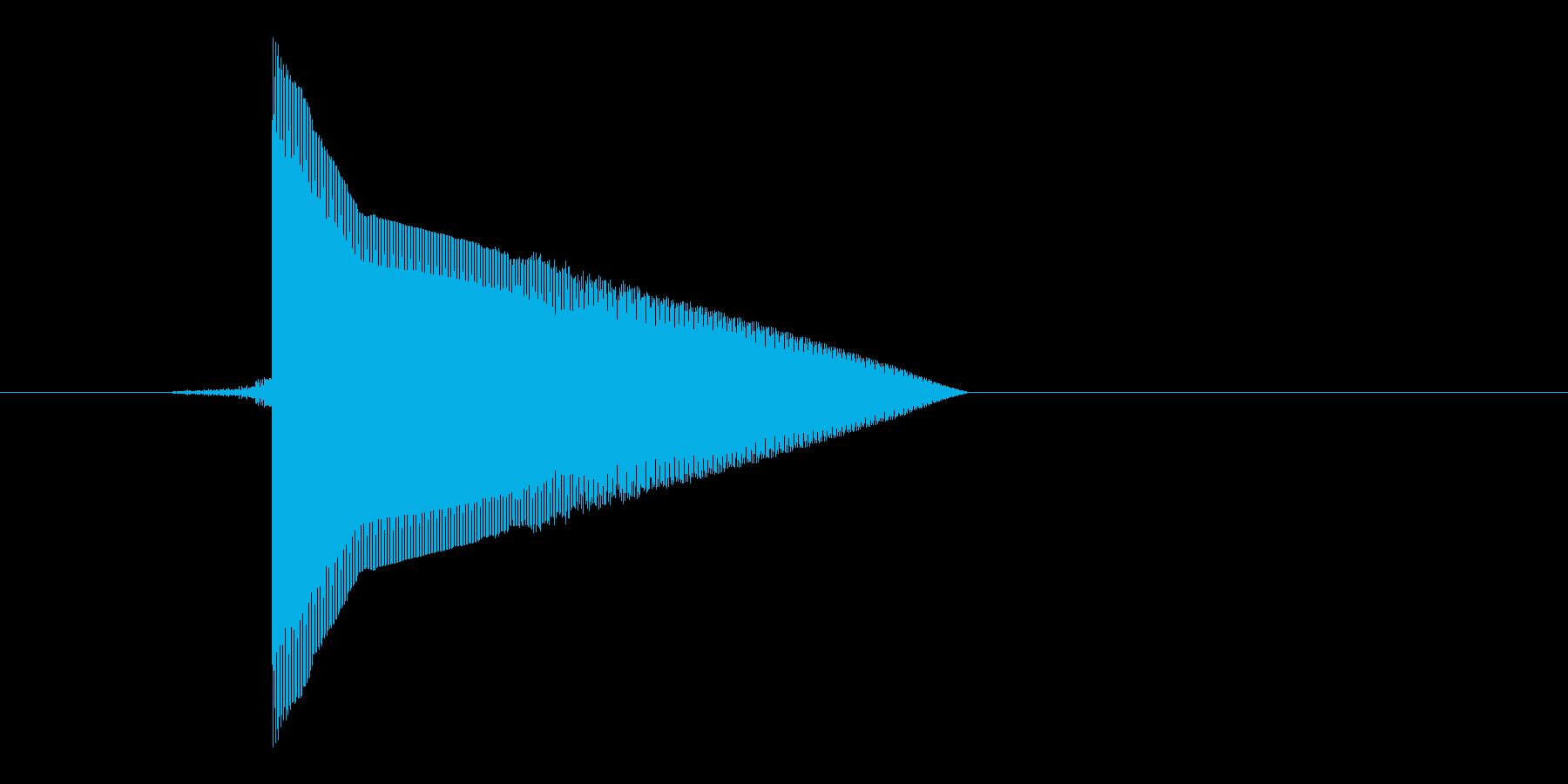 ゲーム(ファミコン風)ピックアップ音_…の再生済みの波形