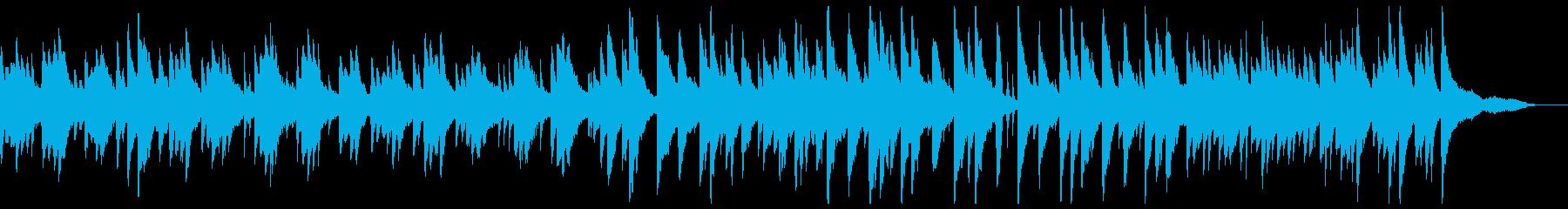 優しいピアノのポップスの再生済みの波形
