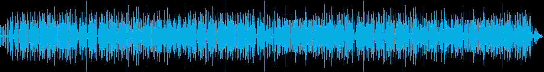 かっこよくて独特なテンポのメロディーの再生済みの波形