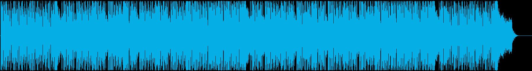 軽快な90年代ポップスを思わせる曲の再生済みの波形