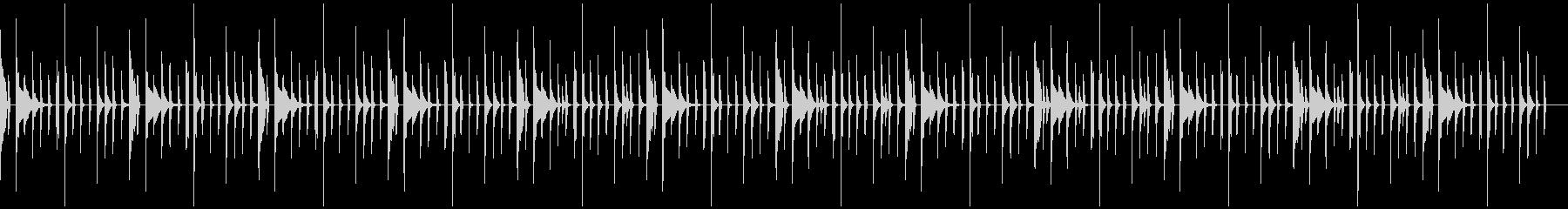 シンキングタイムに流れるBGM2の未再生の波形