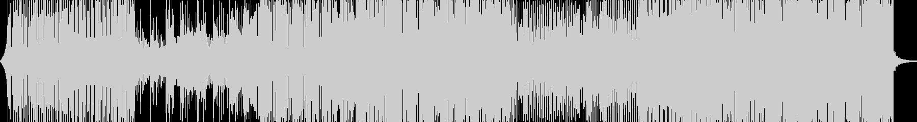 エレクトロスイング。古いスタイル。...の未再生の波形