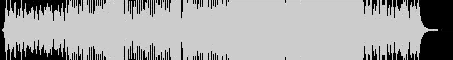 名残惜しいメロディのEDMの未再生の波形