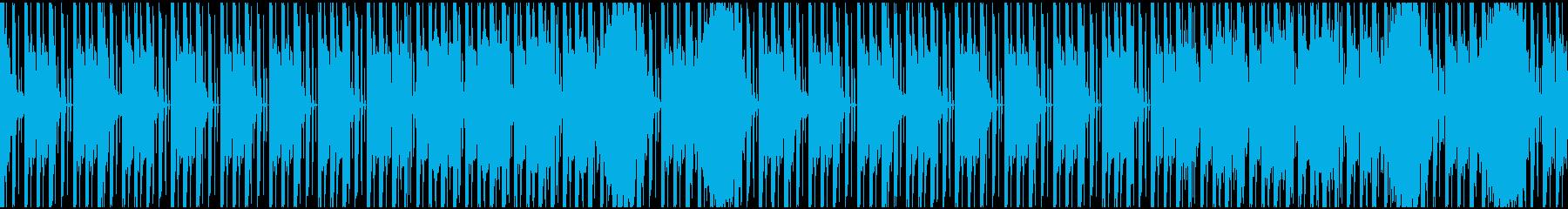 【ミステリアス】不気味ロング5の再生済みの波形