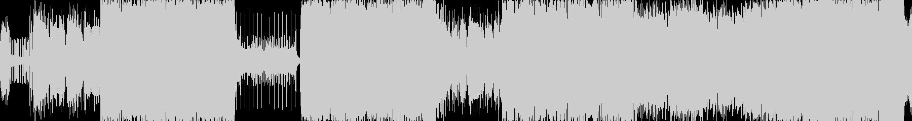 高音質♪マトリックス風テクノループ曲の未再生の波形