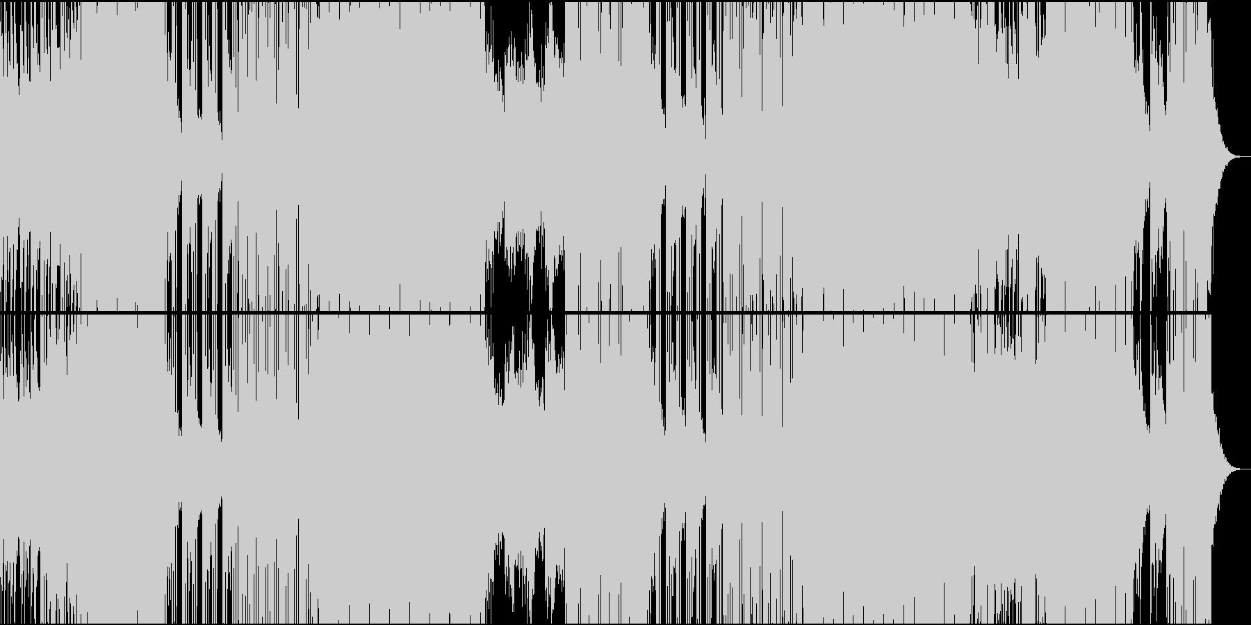 90'シンセ+ギター切ない洋楽POPの未再生の波形