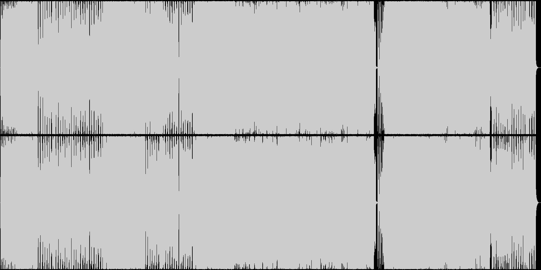 【生演奏】明るくかわいいポップロックの未再生の波形