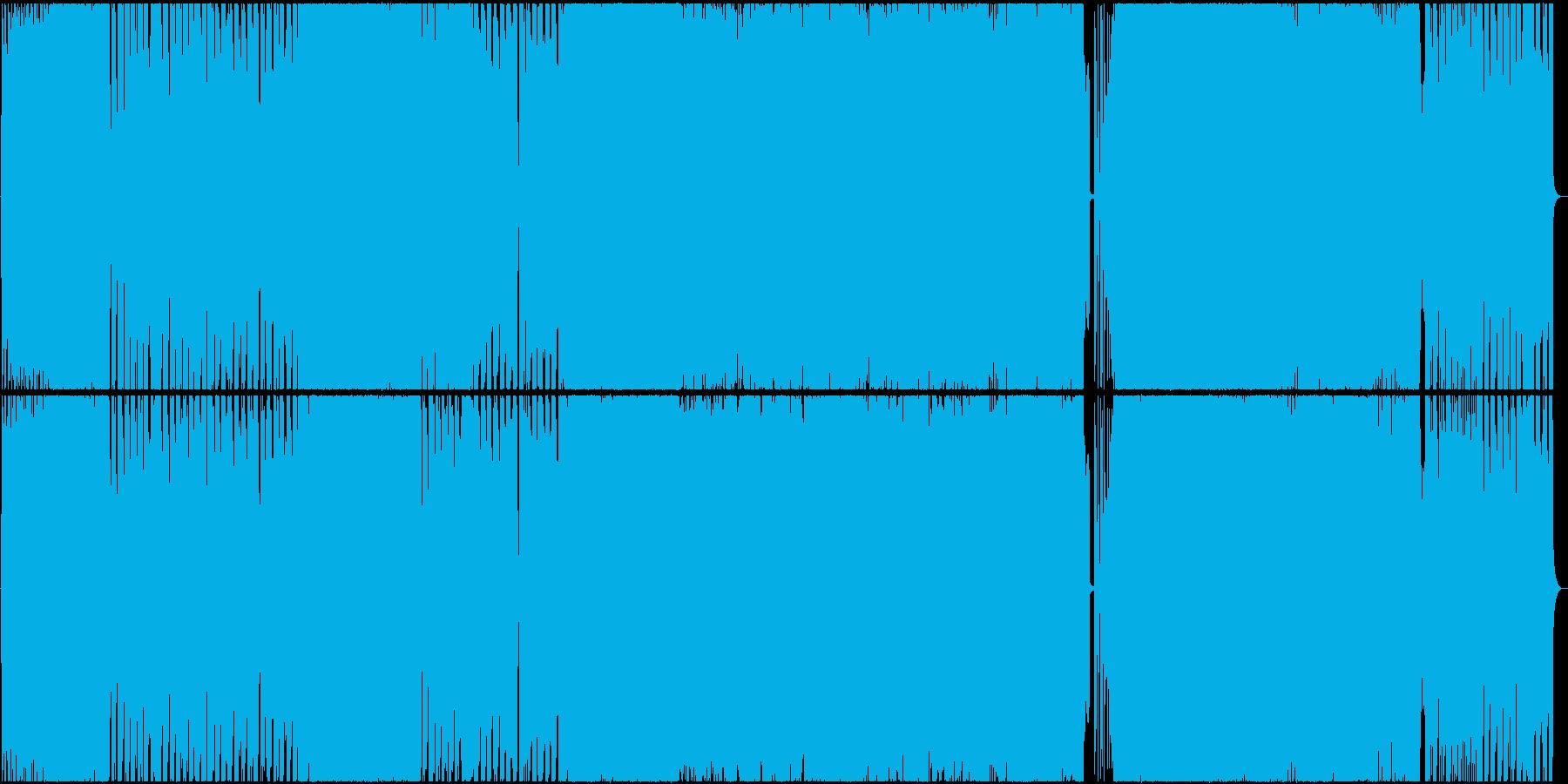 【生演奏】明るくかわいいポップロックの再生済みの波形