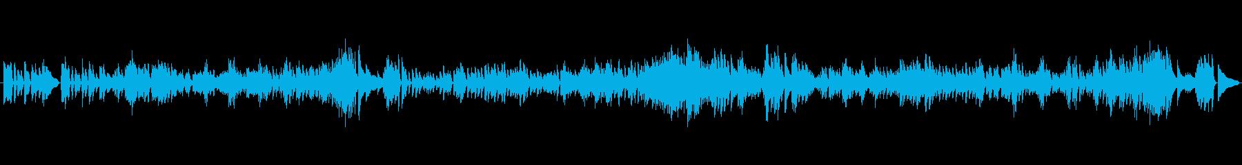 バッハ イタリア協奏曲 第1楽章よりの再生済みの波形