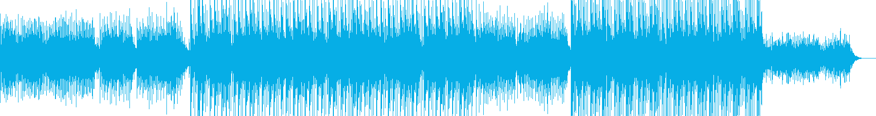 感動的な旋律とメロディのアンビエントの再生済みの波形