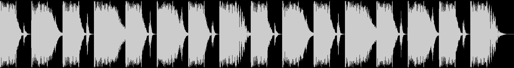 【エレクトロニカ】ロング2、ショート5の未再生の波形