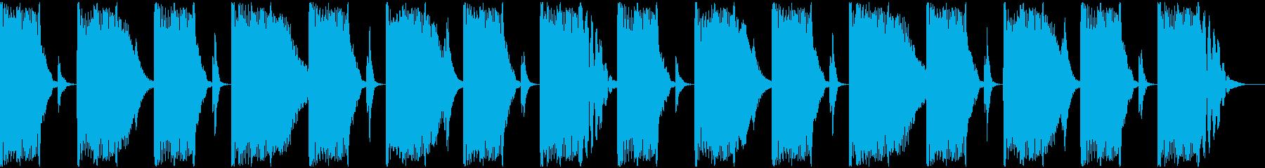【エレクトロニカ】ロング2、ショート5の再生済みの波形