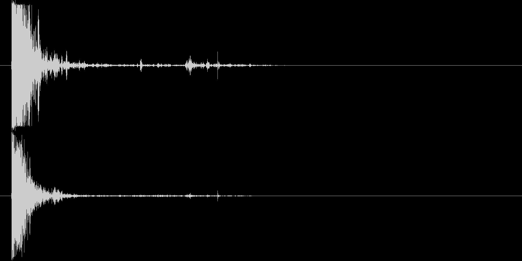 ショットガンファイアリング-Big...の未再生の波形