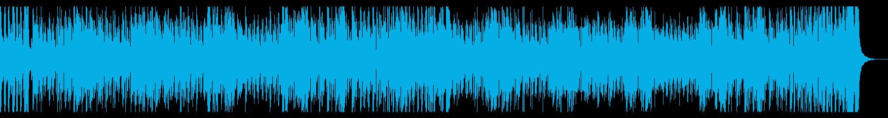 ポップな「鬼のパンツ」インストの再生済みの波形