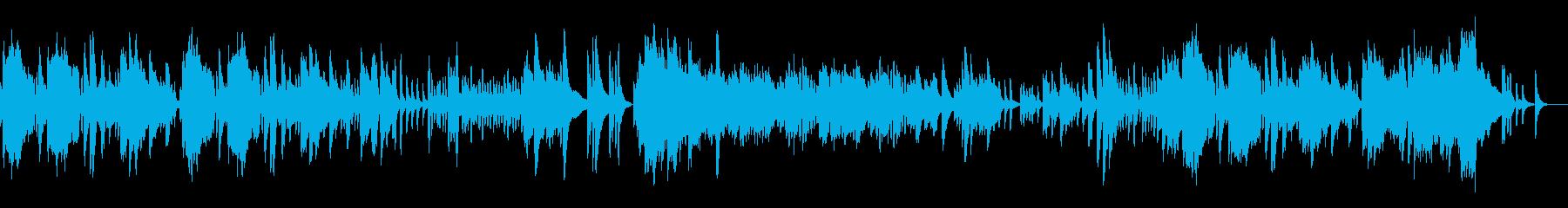 うっきうき、楽しい冒険物語-ピアノソロの再生済みの波形