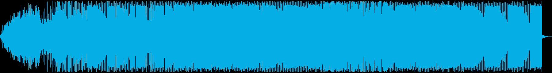 トランス、電子。の再生済みの波形